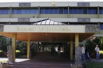Embassy of Indonesia, Canberra - Image: Australias indonesian embassy