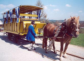 Czech rail records - Reconstructed portion of the České Budějovice - Linz railway in Austria