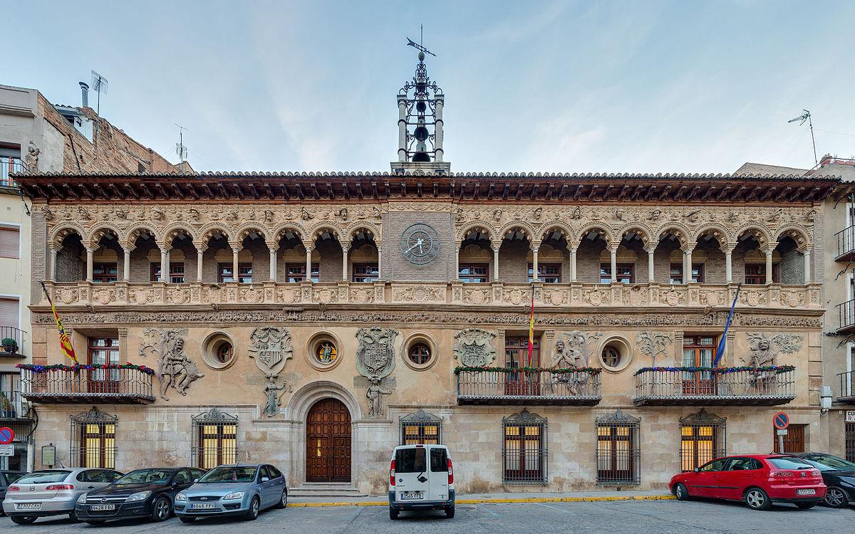 Casa consistorial de tarazona wikipedia la enciclopedia for Ayuntamiento de villel de mesa