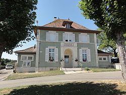 Béthincourt (Meuse) mairie.JPG