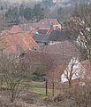 Běleč (Liteň), střechy.jpg