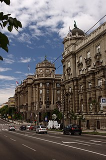 Kneza Miloša Street