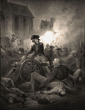 United Belgian States - Battle of Turnhout, 27 October 1789.