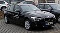 BMW 116i (F20) – Frontansicht, 17. März 2012, Mettmann.jpg