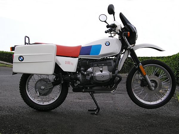 Phenomenal Bmw R80G S Wikiwand Creativecarmelina Interior Chair Design Creativecarmelinacom