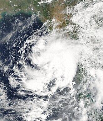 2007 North Indian Ocean cyclone season - Image: BOB 01 2007