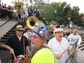 BP Oil Flood Protest NOLA Singing.JPG