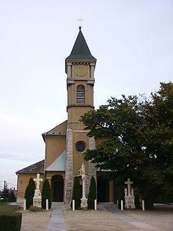 Babót Szent Mihály templom.jpg