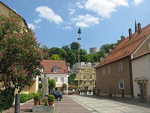 Bad Abbach - Image: Bad Abbach Innenstadt