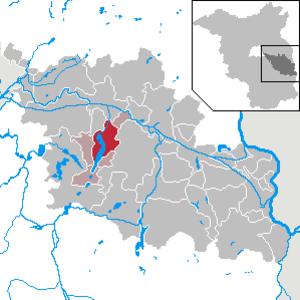 Bad Saarow - Image: Bad Saarow in LOS