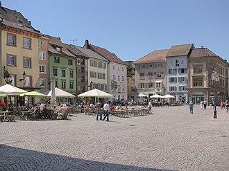 Bad Säckingen - Image: Bad Saeckingen Muensterplatz