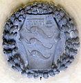 Badia fiorentina, stemma pandolfini nel loggiato vicino al.JPG