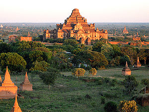 A panorama of Bagan