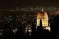 Bahai Temple and the Haifa bay.jpg