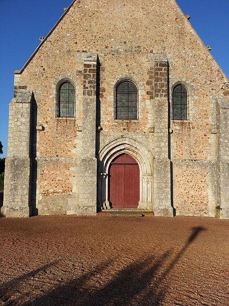 Bailleau-l'Évêque - Eglise Saint-Étienne (façade Ouest)