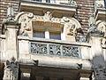 Balcon et décors dun immeuble art nouveau de Jules Lavirotte (5507077395).jpg