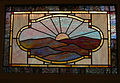 Ballard Kadampa Buddhist Temple stained glass 01.jpg