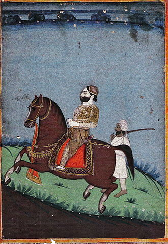 Bourbons of India - Painting of Balthazar I