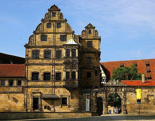Bamberg-Alte Hofhaltung-Fassade