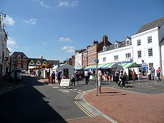Banbury - Banbury Market Place.