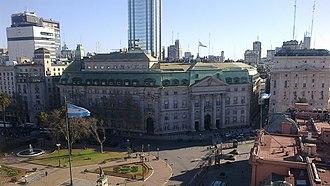 Avenida Rivadavia - Image: Banco de la Nación Argentina sede central