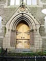 Baptist Church, Cannon Street, Accrington, Doorway - geograph.org.uk - 967170.jpg