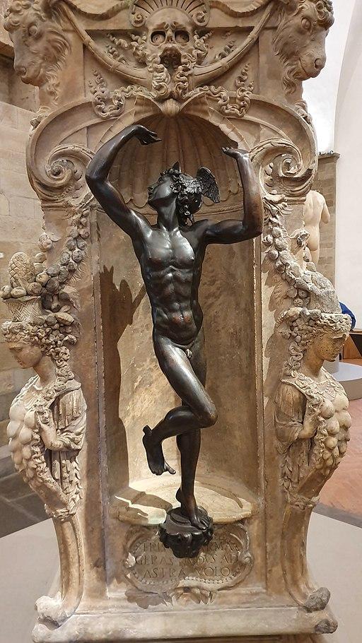 Base of Perseus by Benvenuto Cellini-Bargello