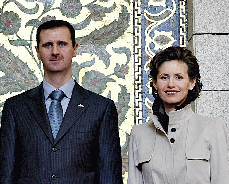 File:Bashar and Asma al-Assad.jpg