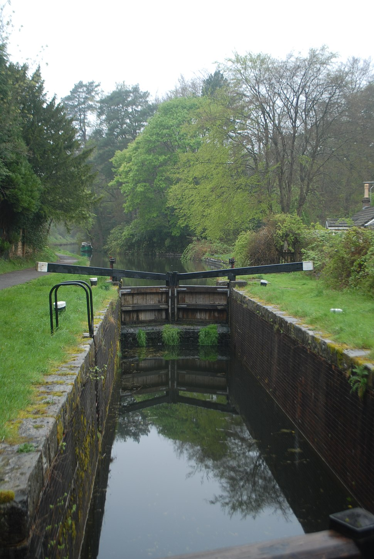 Basingstoke Canal - Lock