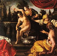 Bathsheba at Her Bath by Artemisia Gentileschi ca. 1640-1645 (Vienna).jpg