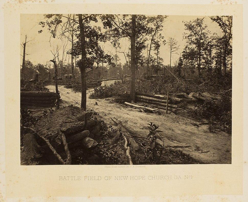 Battle Field of New Hope Church, GA. No. 1. (8170378253)