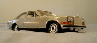 Bburago - Rolls Royce Camargue in 1/22 scale. Though made in the mid-1980s, Bburago's Camargue today is a rather rare find.