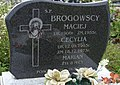Bełżec Cecylia i Maciej Brogowscy Sprawiedliwi wśród Narodów Świata z Bełżca, grób.jpg