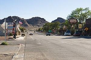 U.S. Route 95 in Nevada - U.S. Route 95 in Beatty, Nevada