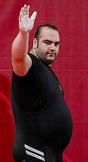 Behdad Salimi Iranian weightlifter