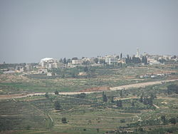 View of Beit Ijza, 2012