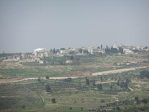 Beit Ijza - View of Beit Ijza, 2012