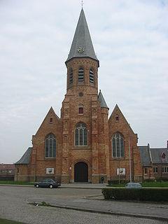 Zeebrugge Village in Belgium