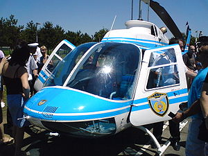 Serbian police helicopter unit - Bell 206