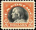 Benjamin Franklin WF 1918 Issue-2$.jpg