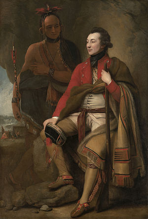 Guy Johnson - Image: Benjamin West Portrait of Colonel Guy Johnson WGA25556