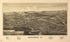 Bennington, Vermont - Bennington in 1887