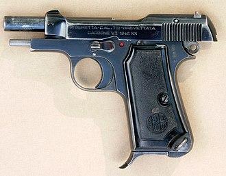 Beretta M1935 - M1935 slide open