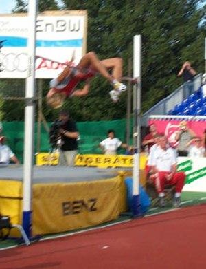 Kajsa Bergqvist - Kajsa Bergqvist's 2.06 m jump in Eberstadt 2003