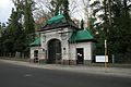Berlin-Frohnau Frohnauer Straße 112 122 Friedhof Hermsdorf Torgebäude LDL 09011976.JPG