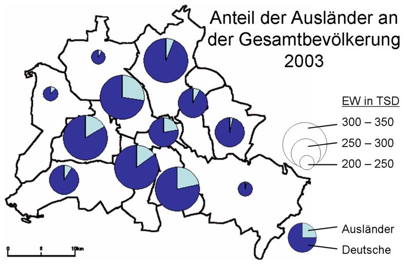 Berlin Ausländeranteil