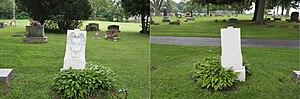 Bernard Kirk - Kirk grave, St. John Cemetery