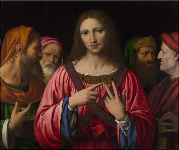File:Bernardino Luini. Christ among Doctors.jpg