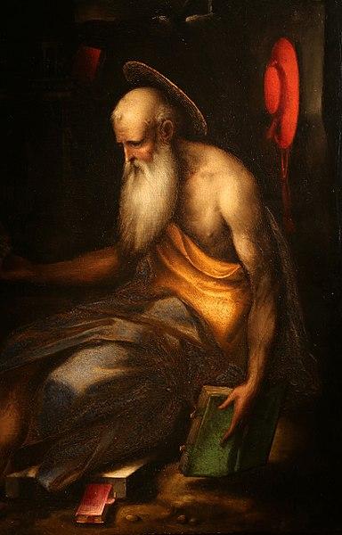 File:Bernardino campi, san girolamo in meditazione, 1565-70 ca. 02.jpg