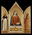 Bernardo Daddi - The Virgin Mary with Saints Thomas Aquinas and Paul - 93.PB.16 - J. Paul Getty Museum.jpg
